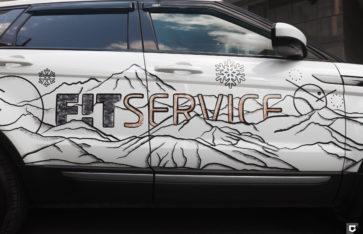 Land Rover Range Rover Evoque «Брендирование Fit Service»