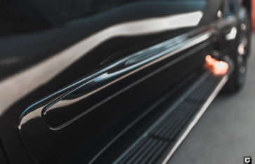 Lexus LX570 «Демонтаж пленки + комплекс по полировке и нанесению керамики»