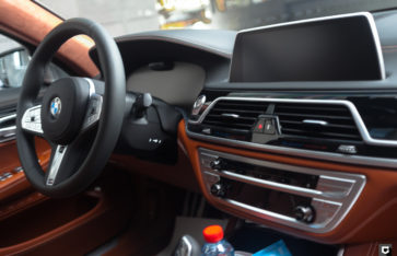 BMW M760li «Полная оклейка в прозрачный полиуретан»