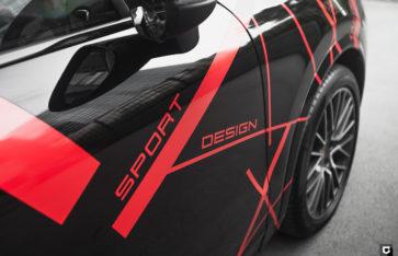 Porsche Cayenne «Комплекс по полировке и нанесению керамики + оклейка согласно дизайн-проекту»