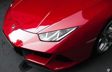 Lamborghini Huracan Evo «Оклейка фронтальной части и зон риска в полиуретан»