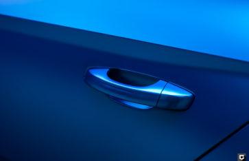Skoda Superb «Полная оклейка в синий матовый хром»