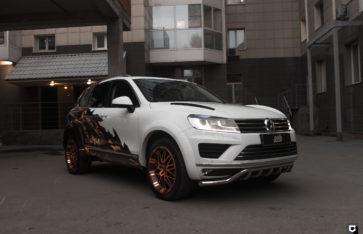 Volkswagen Touareg «Оклейка согласно дизайн-проекту»