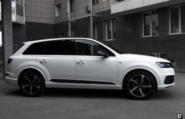 Audi Q7 «Полная оклейка в прозрачный мат»