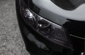 Infiniti FX «Покраска капота и бампера, частичная оклейка в полиуретан и черный глянец»