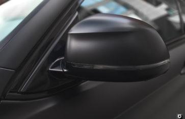 BMW X6 «Полная оклейка в прозрачный мат (ПВХ)»