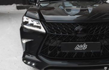 Lexus 570 Superior (Комплекс полировки кузова)