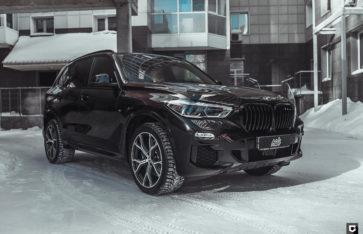 BMW X5(G05) (Полная оклейка кузова в полиуретан)