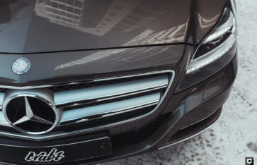 Mercedes-Benz CLS 350 cdi (Частичная оклейка в полиуретан)