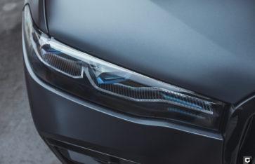 BMW X7 M50i (Полная оклейка в матовый полиуретан)
