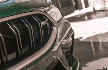 BMW M8 Competition (Полная оклейка в полиуретановую пленку)