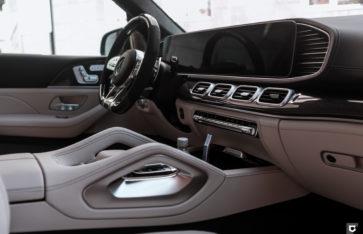 Mercedes-Benz GLS63 AMG (Полная оклейка в матовый полиуретан)