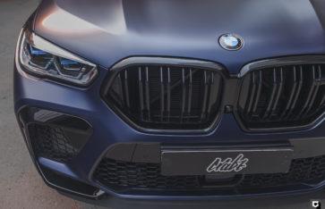 BMW X6M Competition (Полная оклейка в матовую полиуретановую пленку)