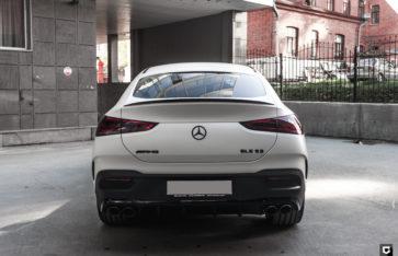 Mercedes-Benz GLE 53 AMG (полная оклейка в матовый полиуретан)
