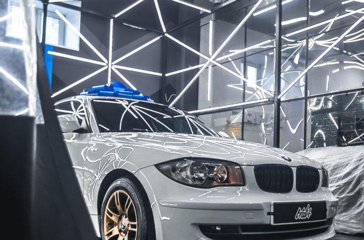 BMW 1 (e81) (Восстановительная полировка)